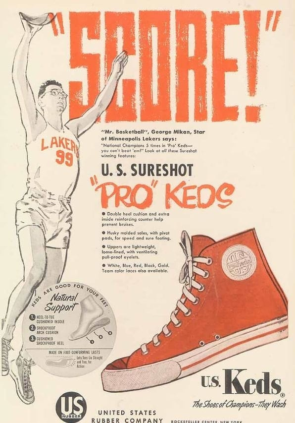 Mikan - Pro Keds advertisement