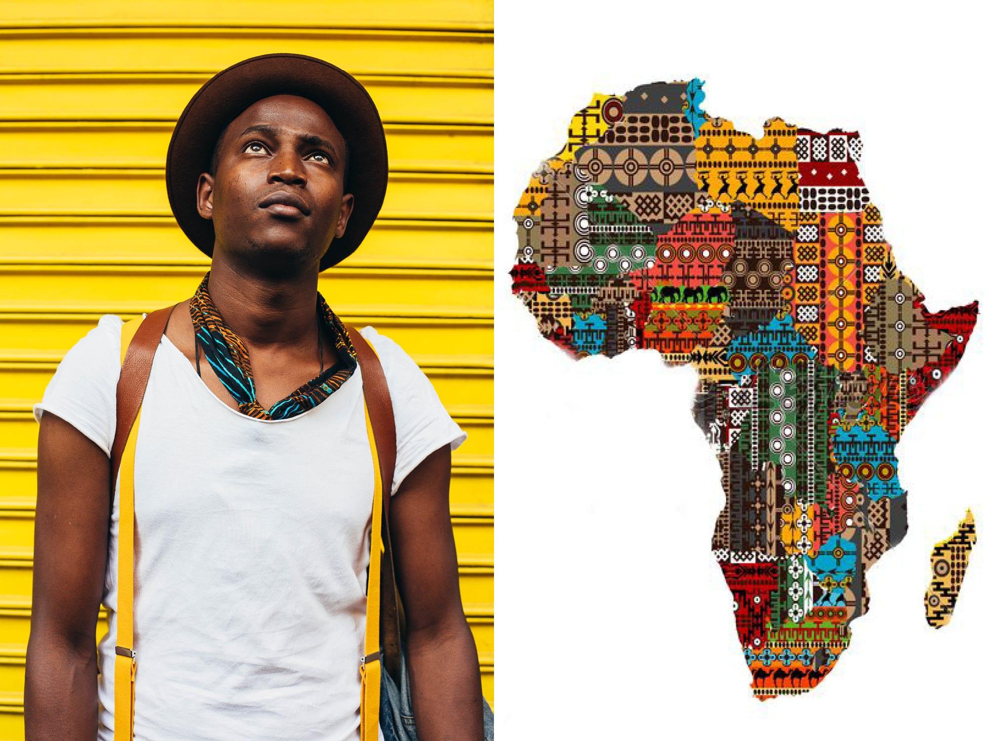 yellow africa