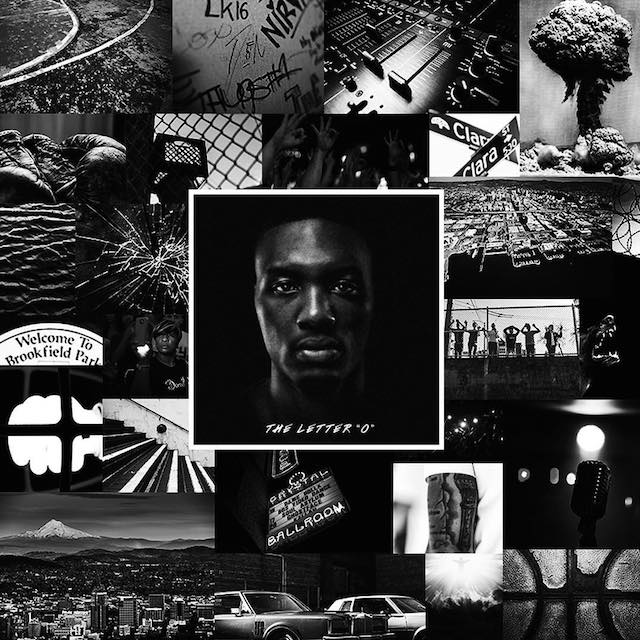 Damian Lillard aka Dame Dolla The Letter O album cover art — We