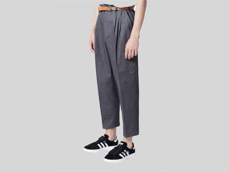 Sattire trousers, grey - €190