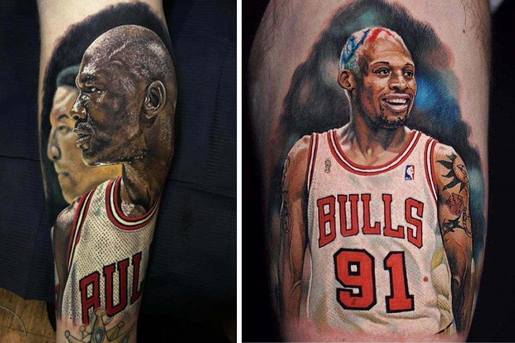 Steve Butcher - The King of NBA Tattoos — We Are Basket