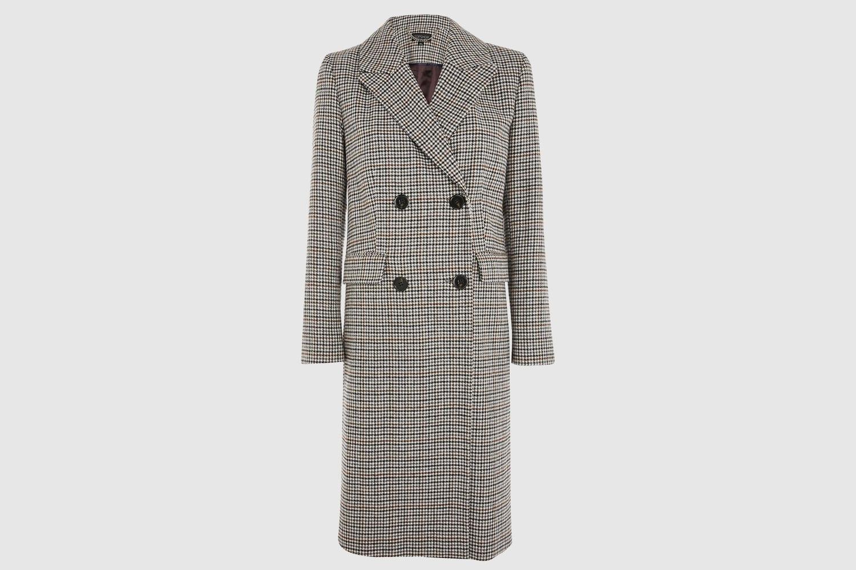 Topshop-Plaid-Coat