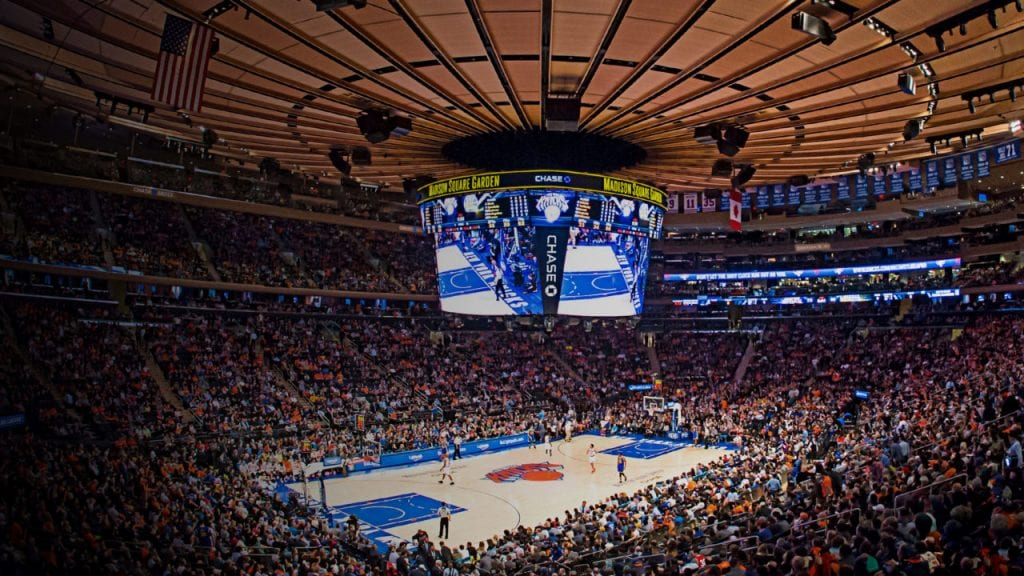 Nba s oldest arena s we are basket Madison square garden basketball