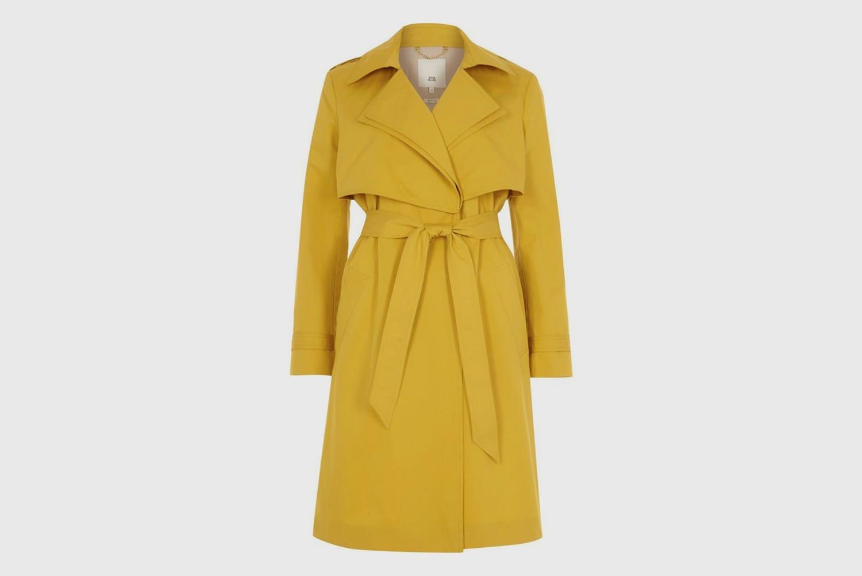 River-Island-Trenchcoat-yellow
