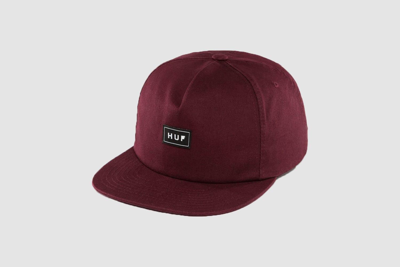 Huf-Burgundy-Snapback