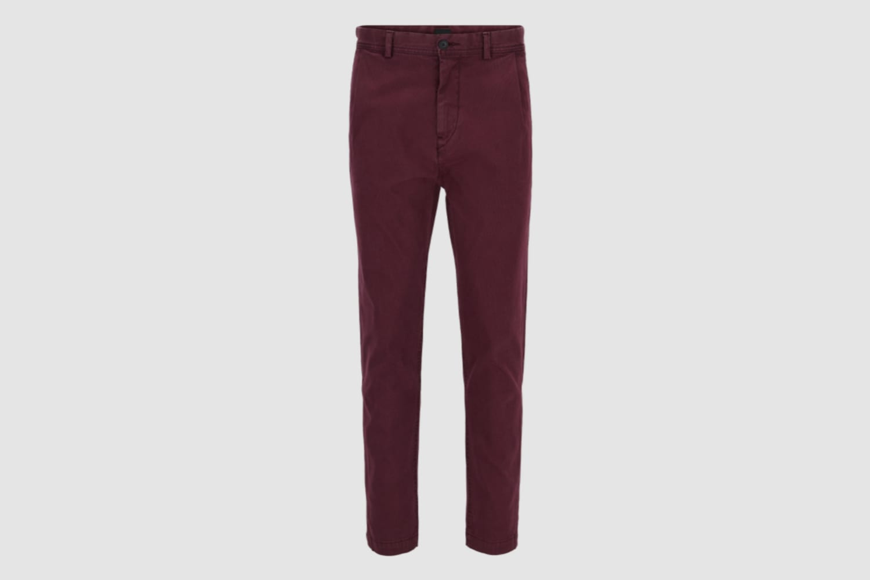 Hugo-Boss-burgundy-trousers