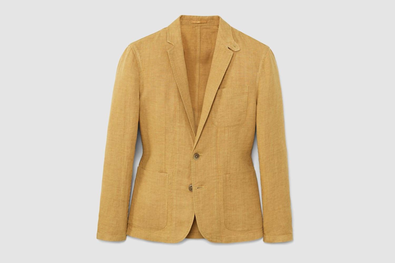 MANGO-linnen-blazer