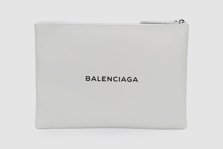 Balenciaga-Clutch-logo