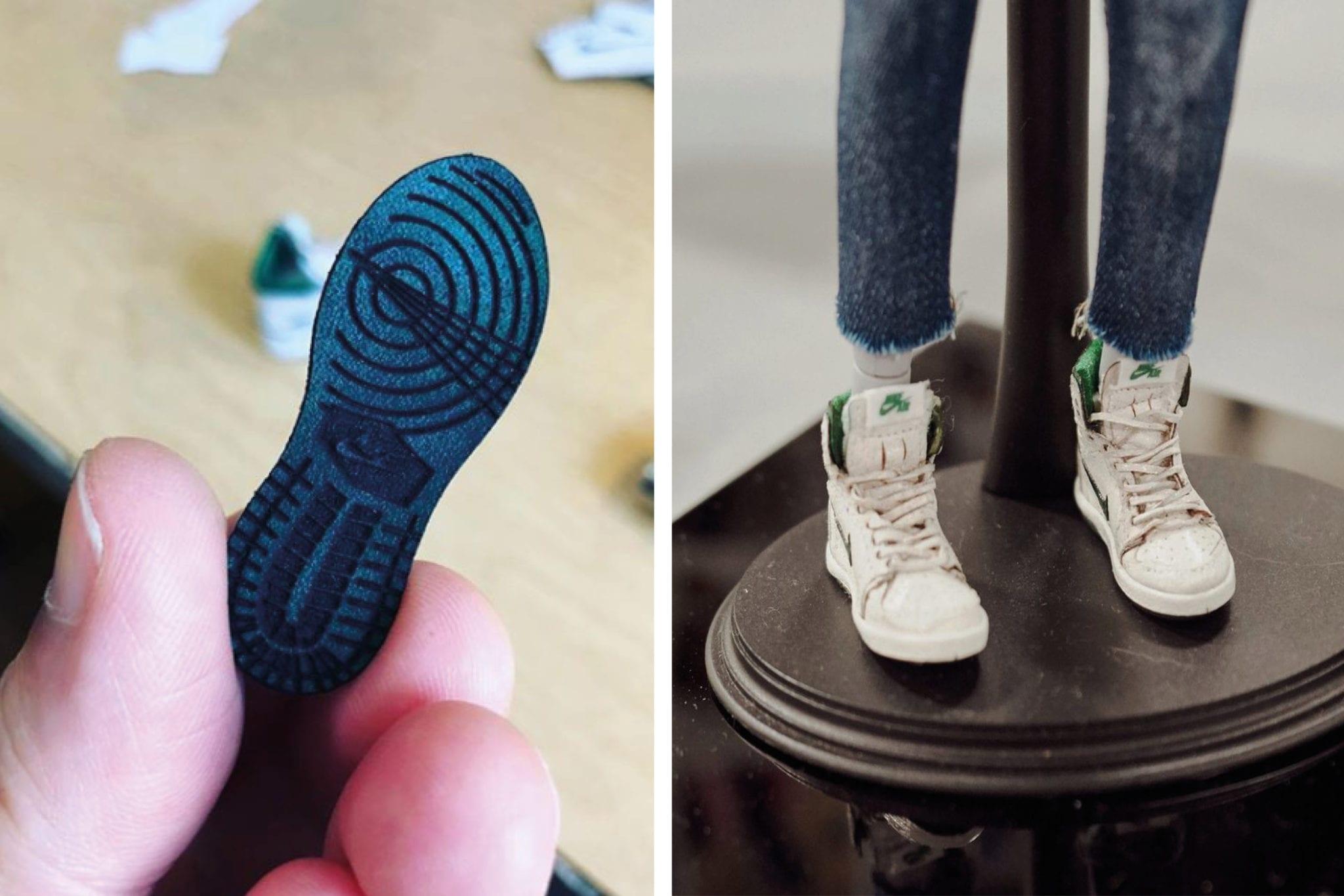 Haute Hero Miniature Sneakers by Chris Pin — We Are Basket