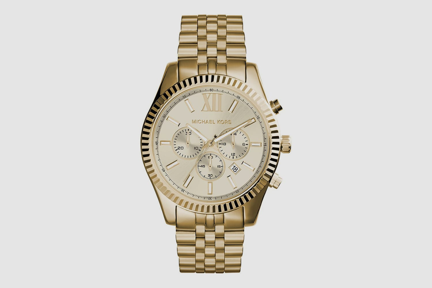 Micheal-Kors-Gold-Watch