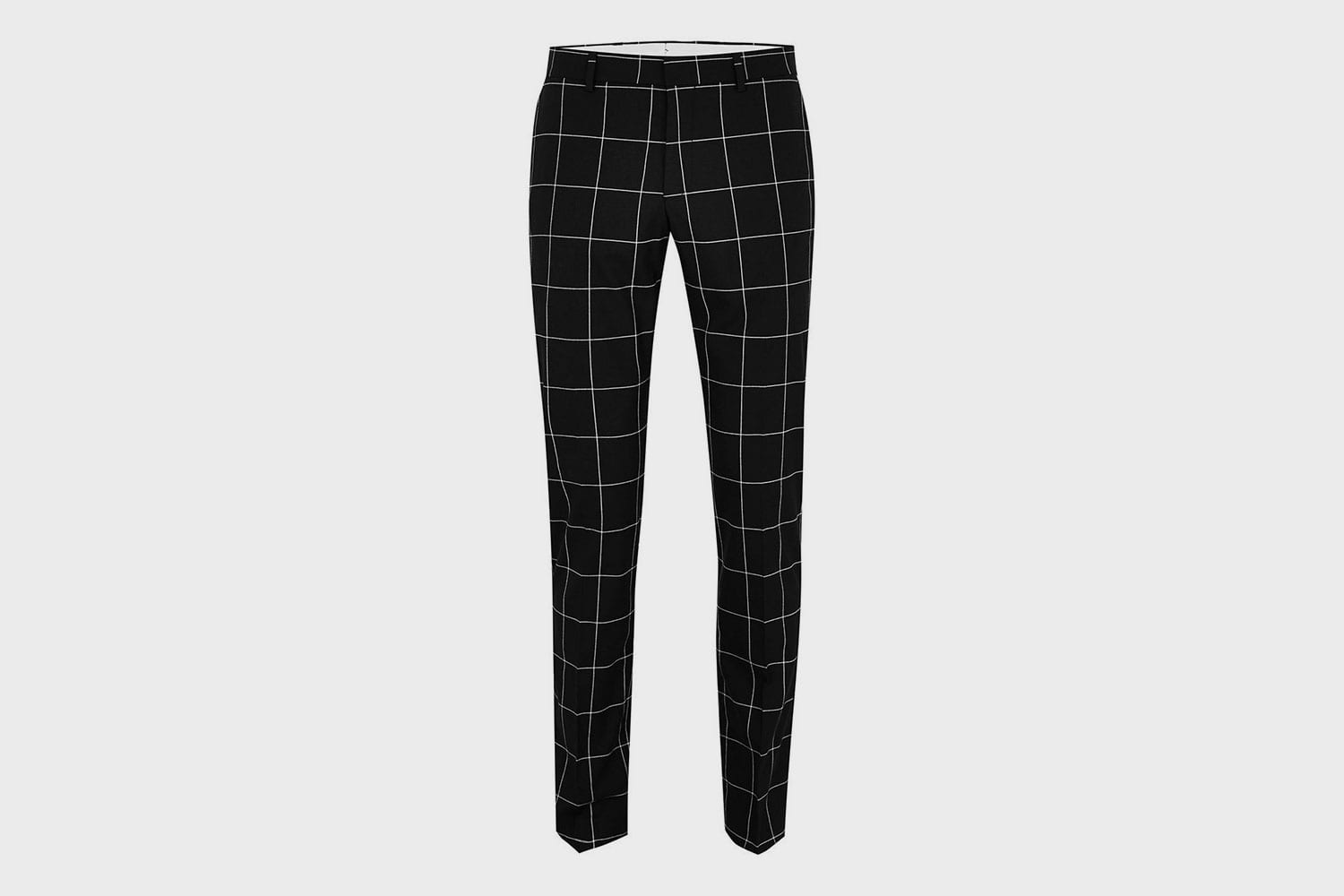 Selected-Homme-Grid-trousers