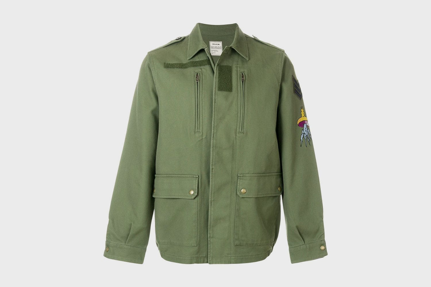 Zadig-&-Voltaire-military-jacket