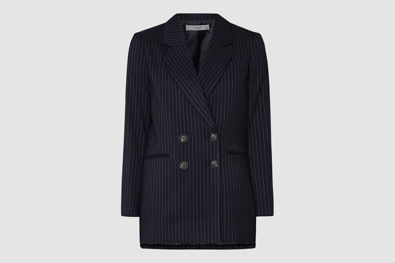 Mango-Longline-Striped-Blazer
