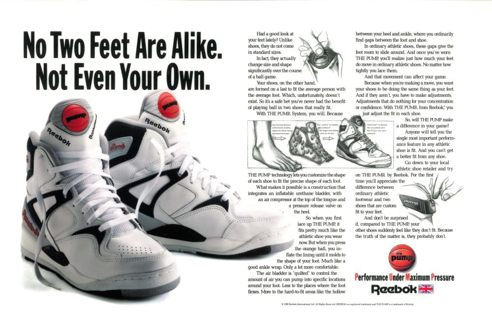 Sneaker History Pump Up and Air Out! — We Are Basket