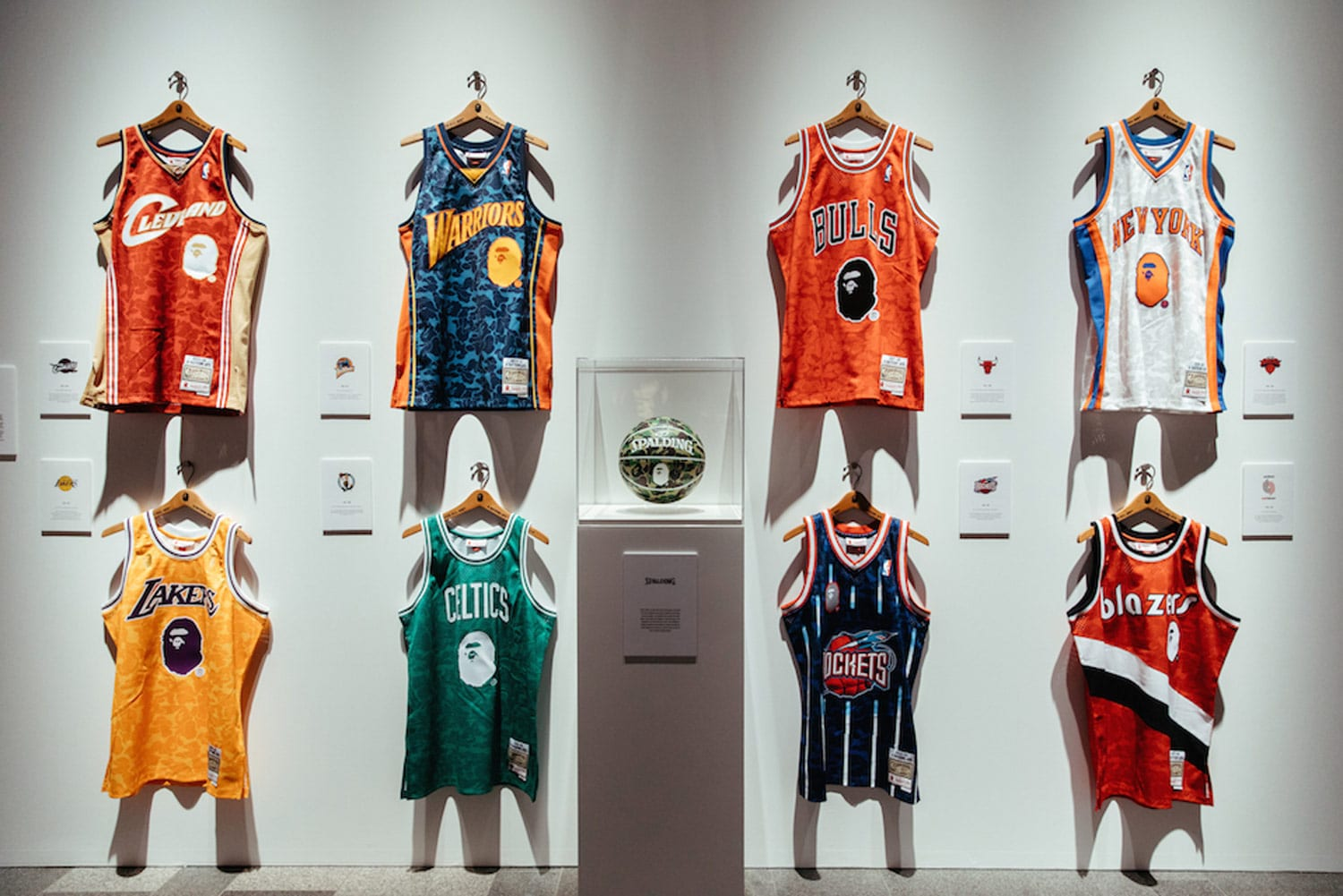 official photos b1066 64c56 BAPE X NBA Jersey collaboration — We Are Basket