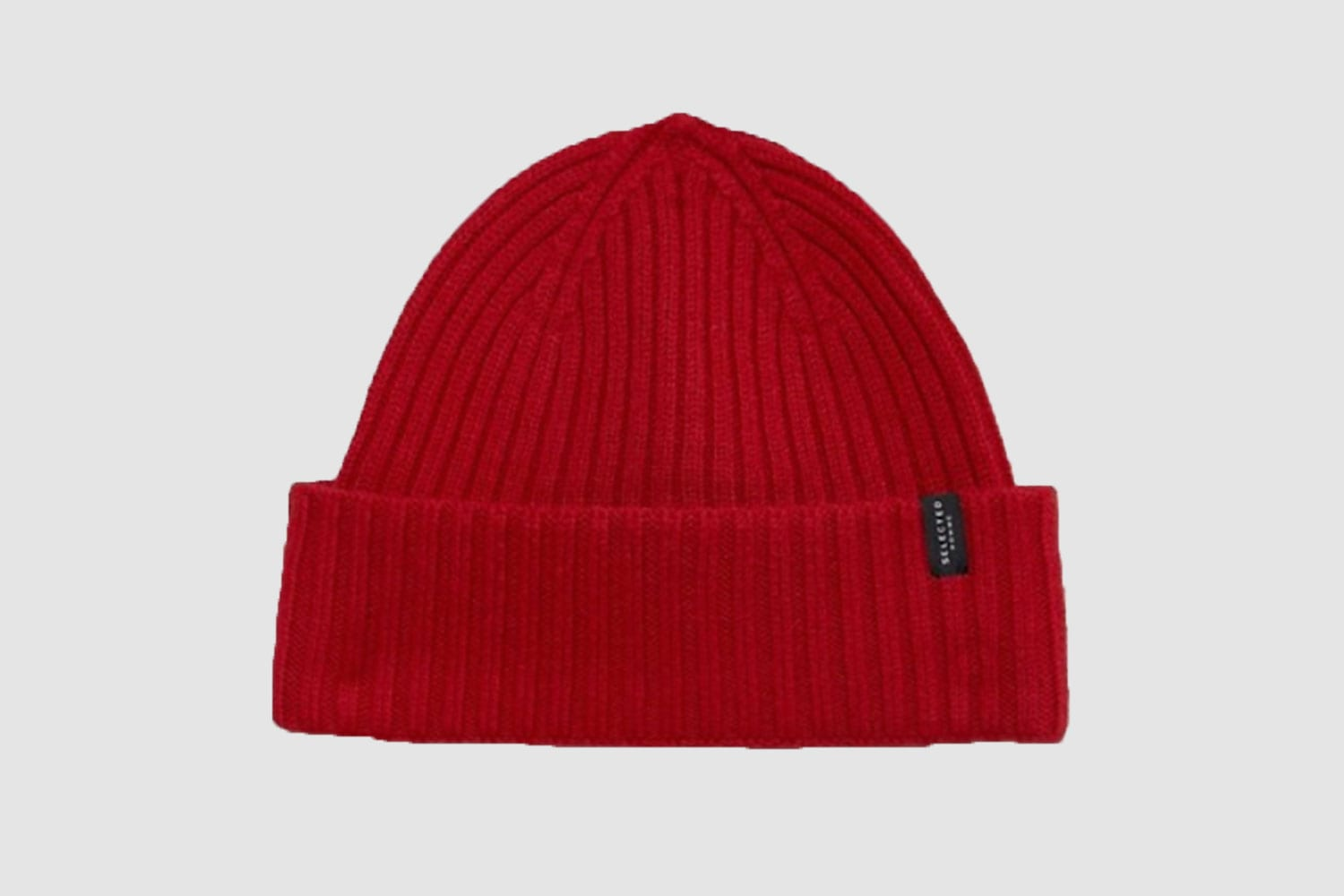 Selected-Homme-beanie-red