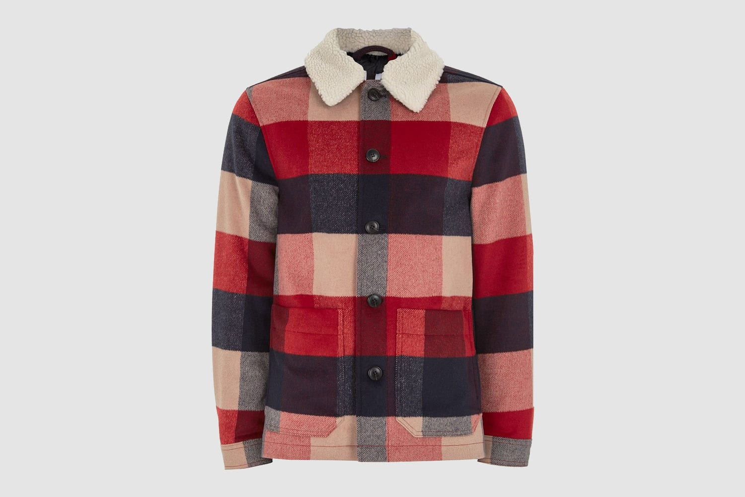 Topman-Checked-Jacket