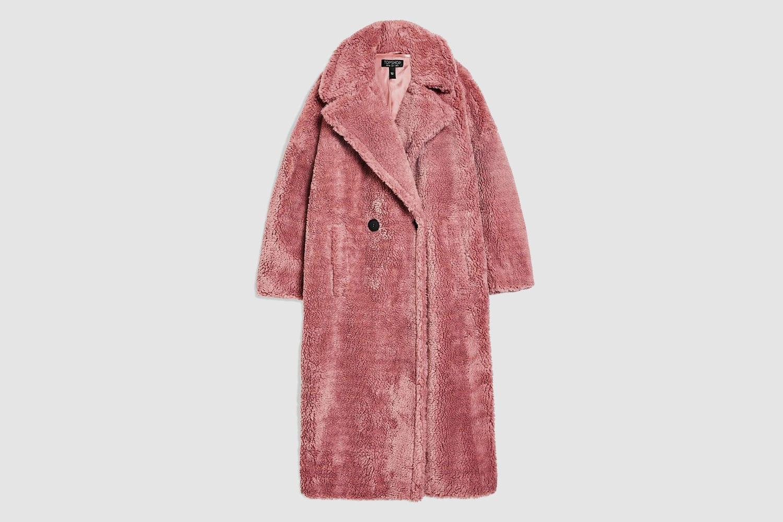 Topshop-Longline-Teddy-Coat