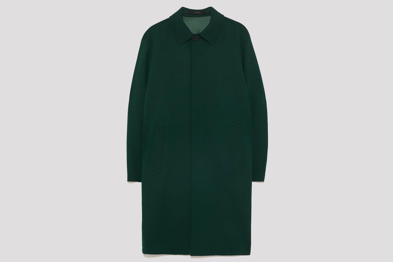 Zara-Trenchcoat-green