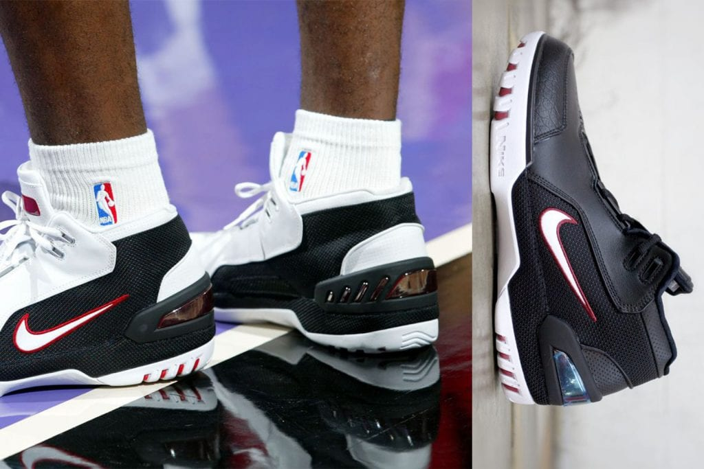 5fe5bbb22b74 Timeline of the signature LeBron James sneakers — We Are Basket