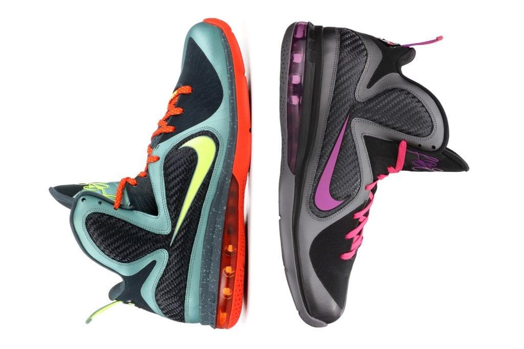 wholesale dealer 38c22 d9546 Timeline of the signature LeBron James sneakers — We Are Basket